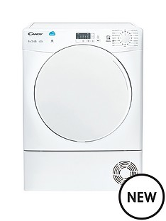 candy-csc8lf-80-8kg-load-tumble-dryer-white
