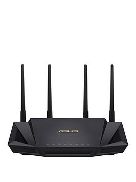 Asus    Rt-Ax58U Wifi 6 Ax3000 Dual-Band Mesh Gigabit Router