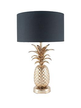 Pacific Lifestyle Pacific Lifestyle Costa Rica Pineapple Table Lamp Picture