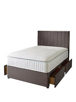 Very Liberty 1000 Pocket Pillowtop Divan Bed With Storage Options (Buy And  ... Picture