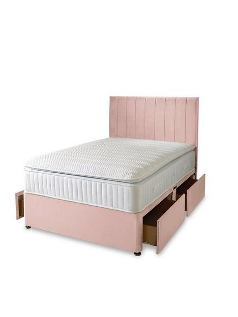 liberty-1000-pocket-pillowtop-divan-bed-with-storage-options-excludes-headboard