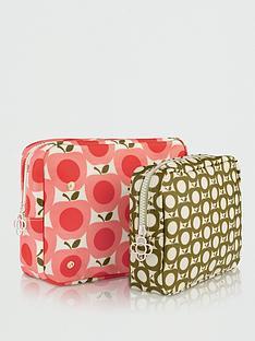 orla-kiely-apple-double-wash-bag