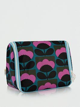 Orla Kiely Orla Kiely Spring Bloom Hanging Wash Bag Picture
