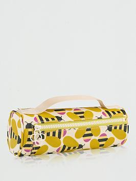 Orla Kiely Orla Kiely Orla Kiely Busy Bee Pencil Case Cosmetic Bag Picture