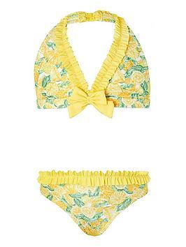 Monsoon Monsoon Girls S.E.W. Layla Lemon Bikini - Yellow Picture