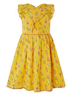 monsoon-girls-sew-grace-cross-front-dress-yellow