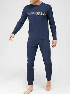 emporio-armani-bodywear-bodywear-mega-logo-lounge-set--nbspnavynbsp