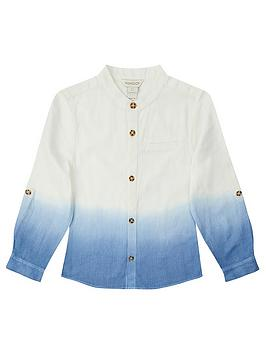 Monsoon Monsoon Boys Ovie Ombre Shirt - Blue Picture