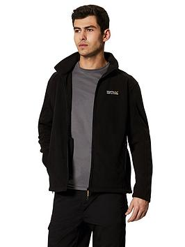 regatta-hedman-fleece-black