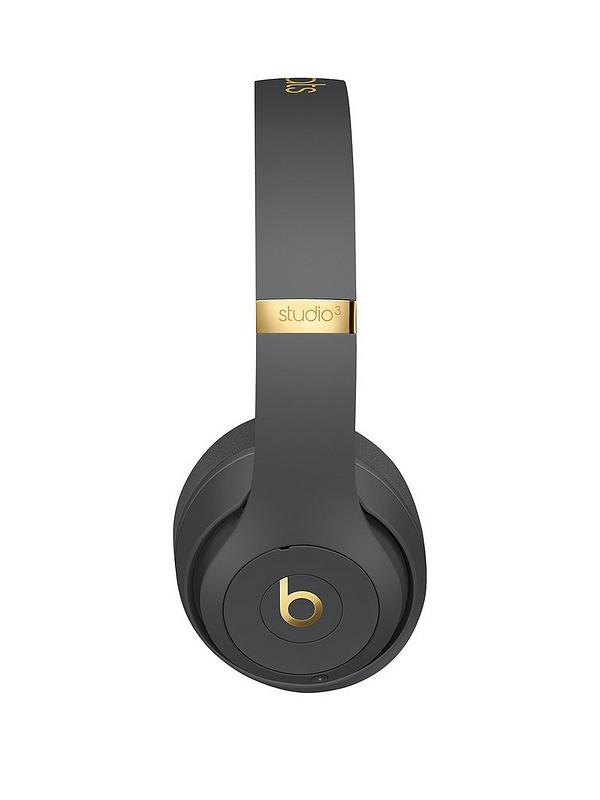 Beats By Dr Dre Studio 3 Wireless Headphones The Beats Skyline Collection Shadow Grey Littlewoods Com