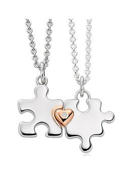 Beaverbrooks Beaverbrooks Mini B Childrens Silver And Rose Gold Plated  ... Picture