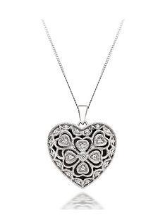 beaverbrooks-silver-cubic-zirconia-heart-locket-pendant