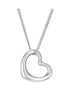 beaverbrooks-9ct-white-gold-heart-pendant