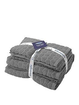 silentnight-honeycomb-4pc-towel-bale
