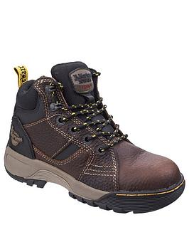 Dr Martens Dr Martens Safety Grapple Teak Boots Picture