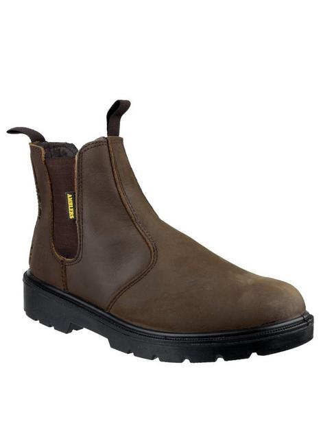 amblers-amblers-safety-128-brown-greasy-dealer-boots