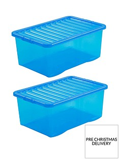 wham-set-of-2-blue-plastic-crystal-storage-boxes-ndash-45-litres-each