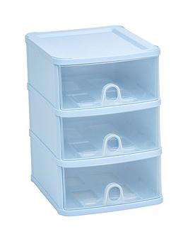 Wham Wham Handy 3-Drawer Tower - Blue Picture