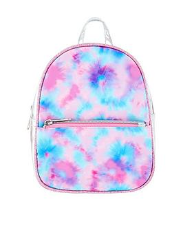 Accessorize Accessorize Girls Tie Dye Printed Backpack - Multi Picture