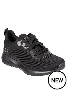 skechers-bobs-squad-lace-up-engineered-knitnbsptrainers-black