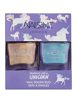 Nails Inc Nails Inc Sparkle Like A Unicorn Nail Polish Duo Picture