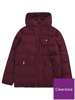lyle-scott-boys-hooded-padded-coat-wine