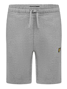 lyle-scott-boys-classic-jog-short-grey