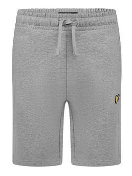 lyle-scott-boys-classic-jog-short-grey