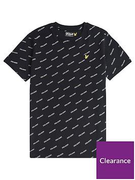 lyle-scott-boys-short-sleeve-all-over-print-t-shirt-black