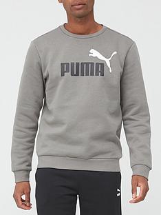 puma-essentialnbsp2-colournbspsweatshirt-grey
