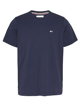 tommy-jeans-tjmnbspregular-t-shirt-twilight-navy