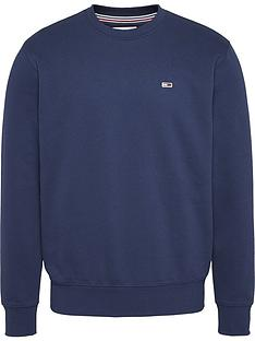 tommy-jeans-regular-fleece-sweatshirt-navynbsp