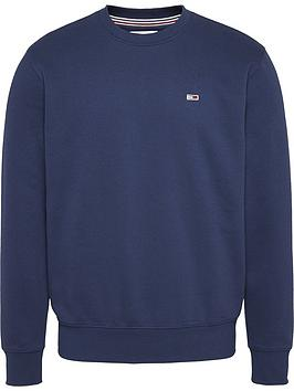 tommy-jeans-regular-fleece-sweatshirt-navynbsp