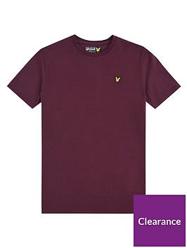 lyle-scott-boys-classic-short-sleeve-t-shirt-wine