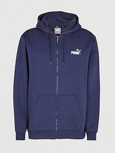 puma-plus-size-essentials-full-zip-hoodie-navy