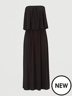 v-by-very-bandeau-jersey-midi-dress-black