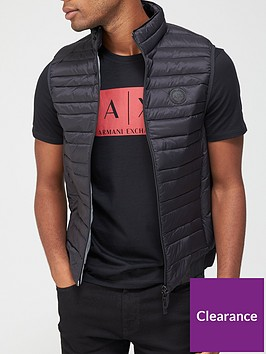 armani-exchange-quilted-down-fill-gilet-black