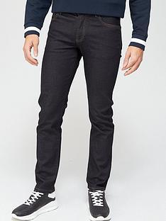 armani-exchange-j16-straight-fit-rinse-wash-jeans-indigonbsp