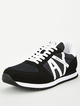 armani-exchange-retro-runner-trainers-black
