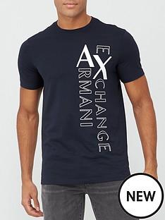 armani-exchange-ax-vertical-logo-print-t-shirt-navy