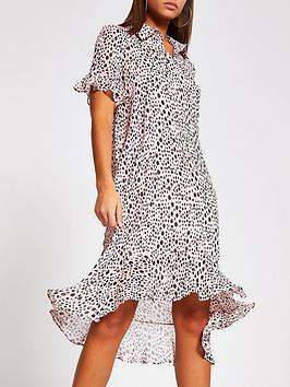 river-island-printed-swing-midi-dress--pink