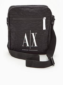 armani-exchange-ax-icon-logo-nylon-cross-body-bag-black