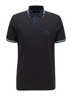 boss-golf-paul-curved-polo-shirt-black