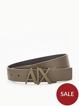 armani-exchange-ax-logo-leather-belt