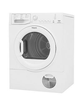 Hotpoint Tcfs83Bgp 8Kg Load Condenser Tumble Dryer - White