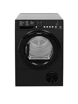 Hotpoint Hotpoint Tcfs83Bgk 8Kg Load Condenser Tumble Dryer - Black Picture