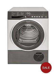 hotpoint-tcfs83bgg-8kg-load-condenser-tumble-dryer-graphite