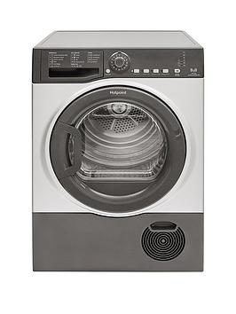 Hotpoint Hotpoint Tcfs83Bgg 8Kg Load Condenser Tumble Dryer - Graphite Picture