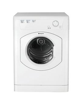 Hotpoint Hotpoint Fetv60Cp 6Kg Load, Vented Tumble Dryer - White Picture