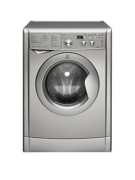 Indesit   Iwdd7143S 7Kg Wash, 5Kg Dry, 1400 Spin Washer Dryer - Silver